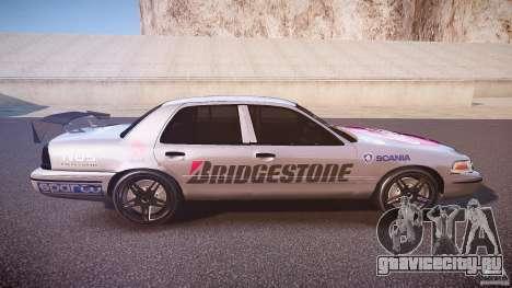Ford Crown Victoria Tuning (Beta) для GTA 4 вид изнутри