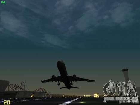 Boeing 767-400ER Delta Airlines для GTA San Andreas вид сбоку
