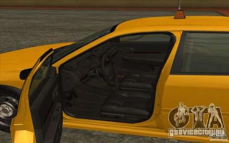 Chevrolet Impala Taxi 2003 для GTA San Andreas вид сзади слева