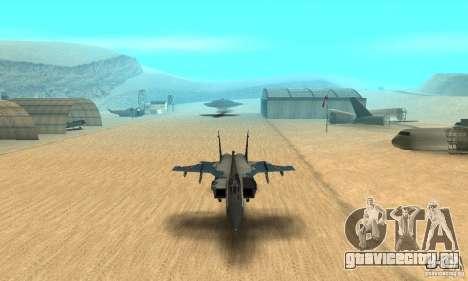 МиГ-31 Foxhound для GTA San Andreas вид сбоку