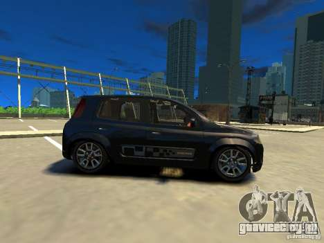 Fiat Novo Uno Sporting для GTA 4 вид слева