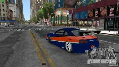 Nissan Silvia S15 Tokyo Drift для GTA 4 вид слева