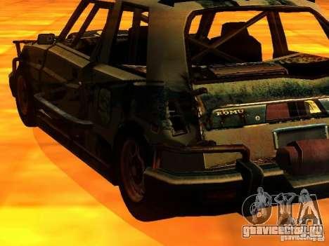 CHILI from FlatOut 2 для GTA San Andreas вид слева