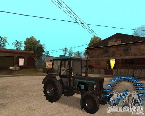 Трактор МТЗ-80 для GTA San Andreas вид слева