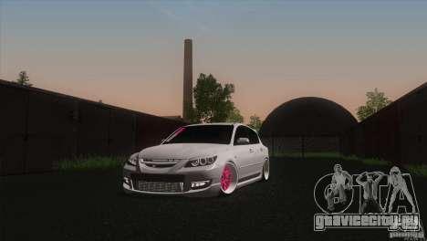 Mazda MazdaSpeed 3 для GTA San Andreas