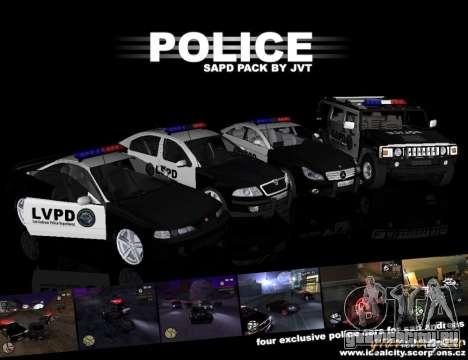 GTA San Andreas SAPD POLICE PACK для GTA San Andreas