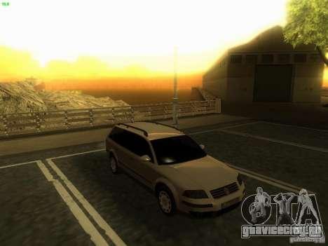 Vw Passat B5.5 Wagon 1.9 TDi для GTA San Andreas вид справа