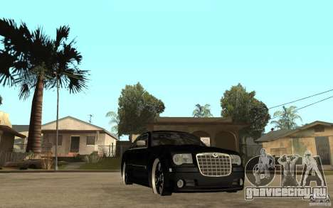 Chrysler 300C DUB для GTA San Andreas вид сзади