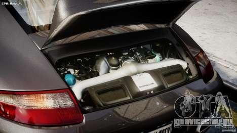 Porsche 911 Turbo для GTA 4 вид изнутри