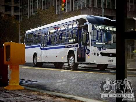 Scania K230 MTA New York City Bus для GTA 4 вид справа
