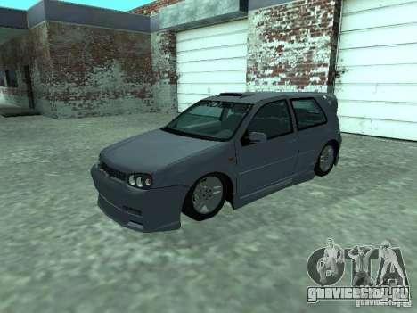 Volkswagen Golf IV для GTA San Andreas вид сверху