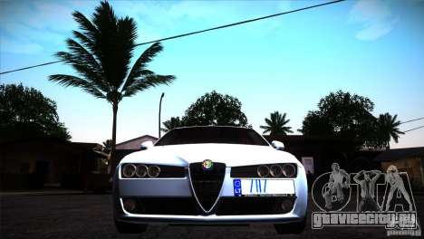 Alfa Romeo 159 Ti для GTA San Andreas вид изнутри