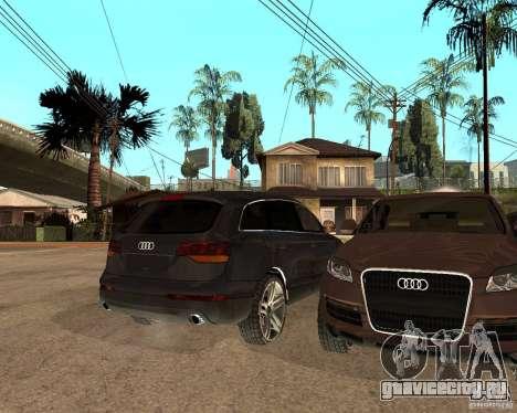 Audi Q7 4.2 FSI для GTA San Andreas вид справа