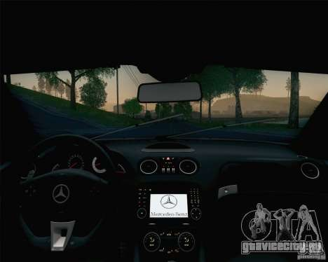 Mercedes-Benz SL65 AMG Black Series для GTA San Andreas салон