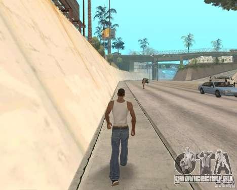 Sprint System v1.0 для GTA San Andreas третий скриншот