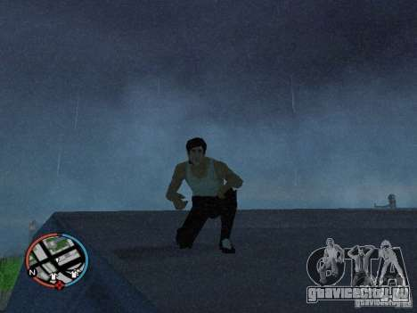 Скин Брюса Ли для GTA San Andreas второй скриншот