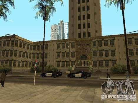 Запасной выход из LSPD для GTA San Andreas