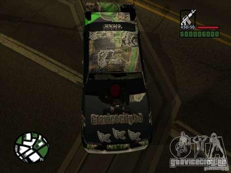 Новый винил для Cултана для GTA San Andreas вид слева