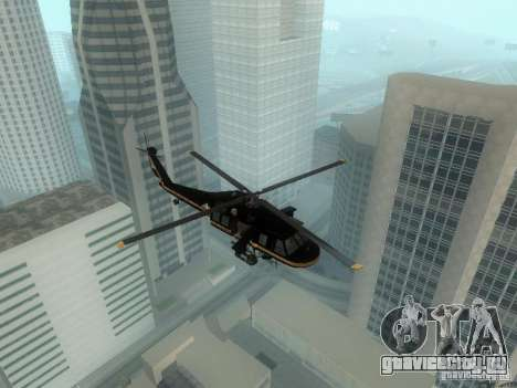 Enterable Annihilator из GTA 4 для GTA San Andreas
