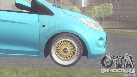 Ford Ka Stance Perry Edtion для GTA San Andreas вид сзади слева