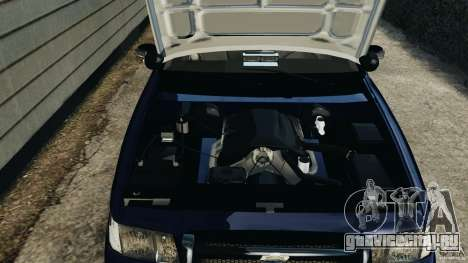 Ford Crown Victoria Police Unit [ELS] для GTA 4 вид изнутри