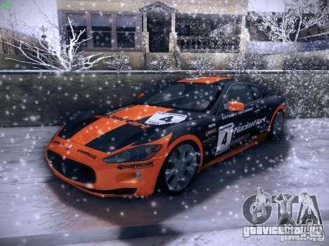 Maserati Gran Turismo S 2011 V2 для GTA San Andreas вид сбоку