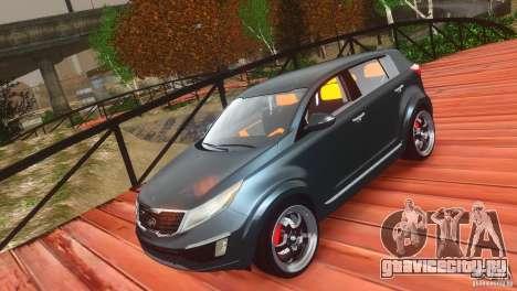 Kia Sportage 2010 v1.0 для GTA 4 вид изнутри