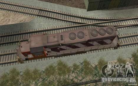 CN SD40 ZEBRA STRIPES для GTA San Andreas