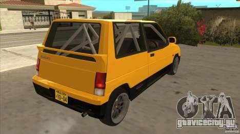 Suzuki Alto Euro для GTA San Andreas вид справа