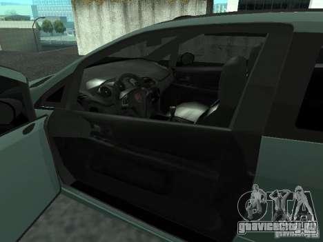 Fiat Punto EVO SPORT 2010 для GTA San Andreas вид сзади слева