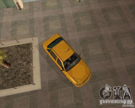 Daewoo Nexia Taxi для GTA San Andreas вид справа