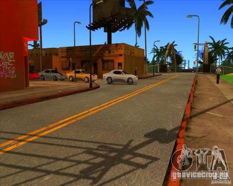 Красивые настройки ENBSeries для GTA San Andreas седьмой скриншот