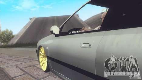 Peugeot 406 Rat Style для GTA San Andreas вид сзади слева