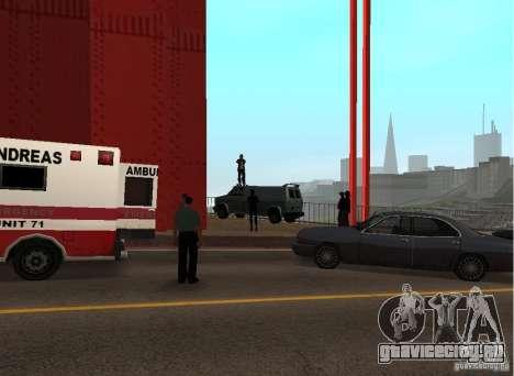 Самоубийца На Мосту для GTA San Andreas третий скриншот