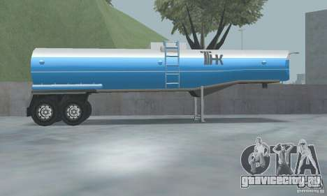 Обновлённая заправка ТНК и ТНК Прицеп для GTA San Andreas третий скриншот