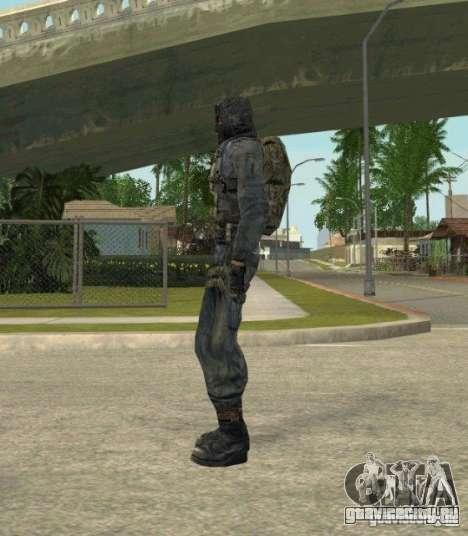 Группировка Наёмники из сталкера для GTA San Andreas десятый скриншот