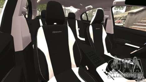 Volvo S60 R Design для GTA 4 вид изнутри