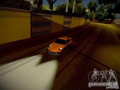 Porsche 997 GT2 для GTA San Andreas вид справа