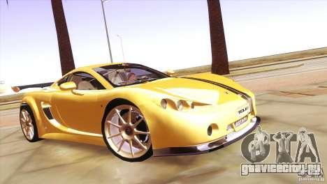 Ascari A10 для GTA San Andreas вид сзади