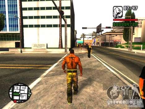 EnbSeries by gta19991999 v2 для GTA San Andreas пятый скриншот