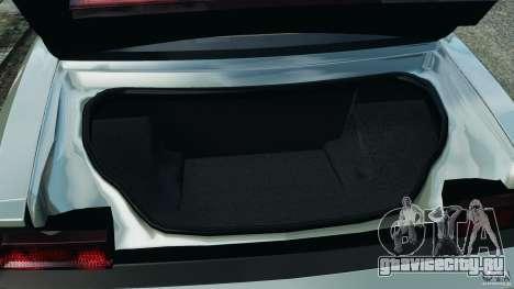 Dodge Challenger SRT8 2009 [EPM] для GTA 4 вид снизу