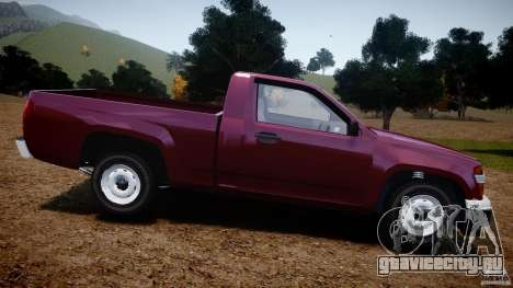 Chevrolet Colorado 2005 для GTA 4 вид слева