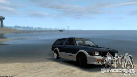 GMC Typhoon 1993 v1.0 для GTA 4 вид справа