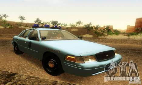 Ford Crown Victoria Maine Police для GTA San Andreas