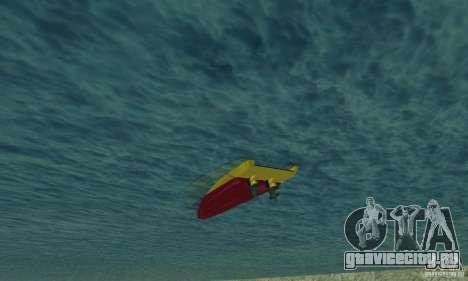 GTAIV Jetmax для GTA San Andreas вид изнутри