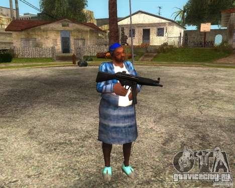Gangsta Granny для GTA San Andreas четвёртый скриншот