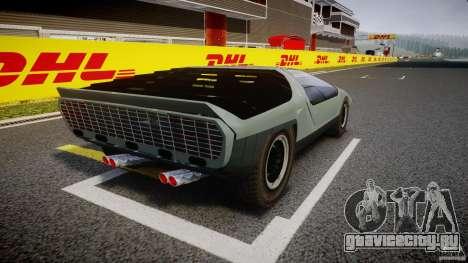 Alfa Romeo Carabo для GTA 4 вид изнутри