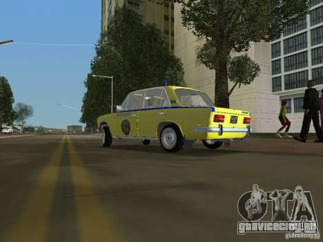 Ваз 2103 Милиция для GTA Vice City вид слева
