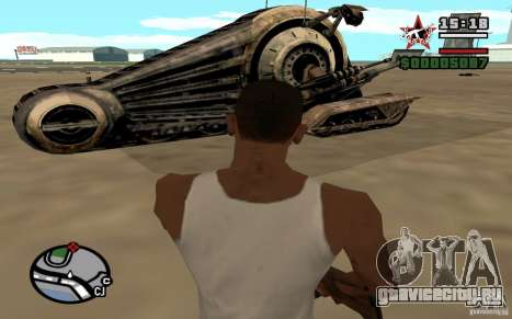 Alliance Tank Droid для GTA San Andreas вид сзади слева