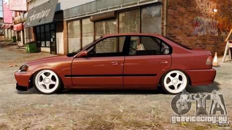 Honda Civic iES для GTA 4 вид слева